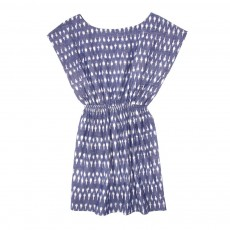 Robe Ikat - Bleu