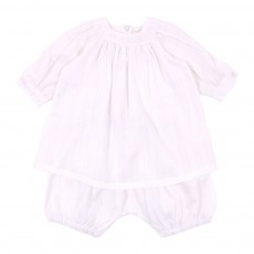Ensemble robe et bloomer B&eacute;b&eacute;