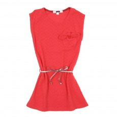 Robe Poche Noeud-Rouge