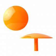 Patère murale 10 cm - Orange