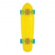 Skateboard Bantam transparent - Jaune