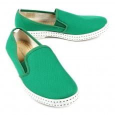 Chaussures en toile - Vert