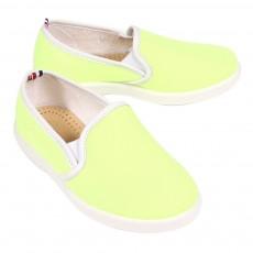 Chaussures en toile - Jaune fluo