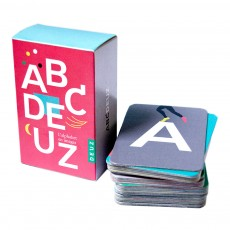 Flashcards ABCDeuz bilingue Multicolore