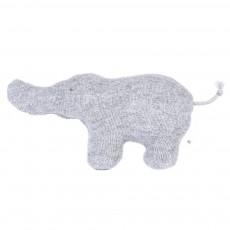 Hochet - Eléphant gris