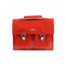 Cartable Mini Bretelles vinyle Rouge