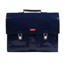 Cartable Bretelles vinyle  Bleu marine