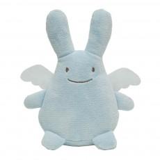 Doudou Ange lapin Fat Boy - Bleu ciel