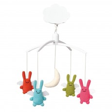 Mobile musical Anges Lapin