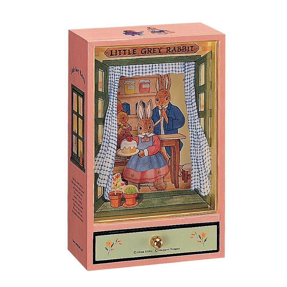 bo te musique little grey rabbit trousselier jeux jouets loisirs enfant smallable. Black Bedroom Furniture Sets. Home Design Ideas
