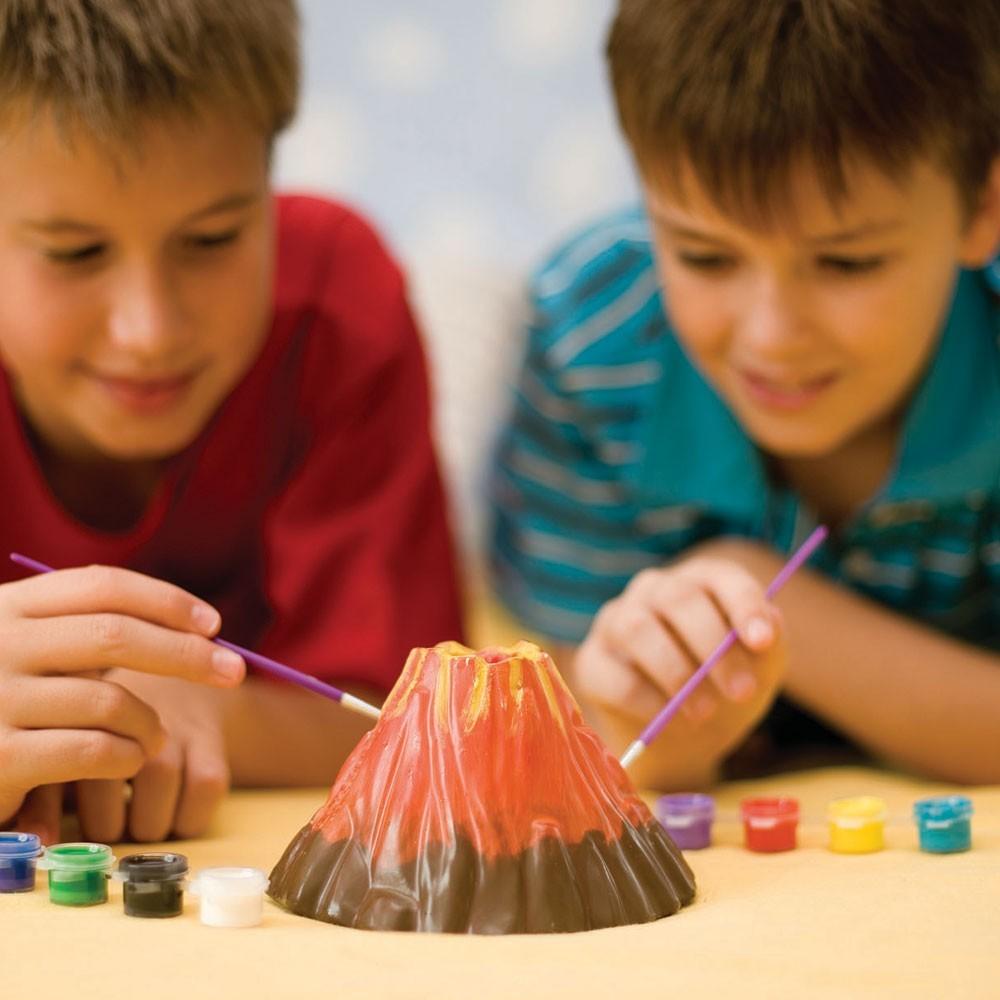 Kit de fabrication : Volcan 4M  Kidz Labs  Magasin de Jouets pour Enfants