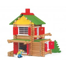 Jeu de construction Mon chalet en bois - 135 pièces