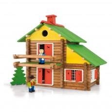 Jeu de construction Mon chalet en bois - 175 pièces