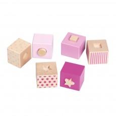 Cubes empilables et encastrables