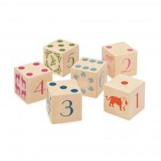 Cubes chiffres / animaux