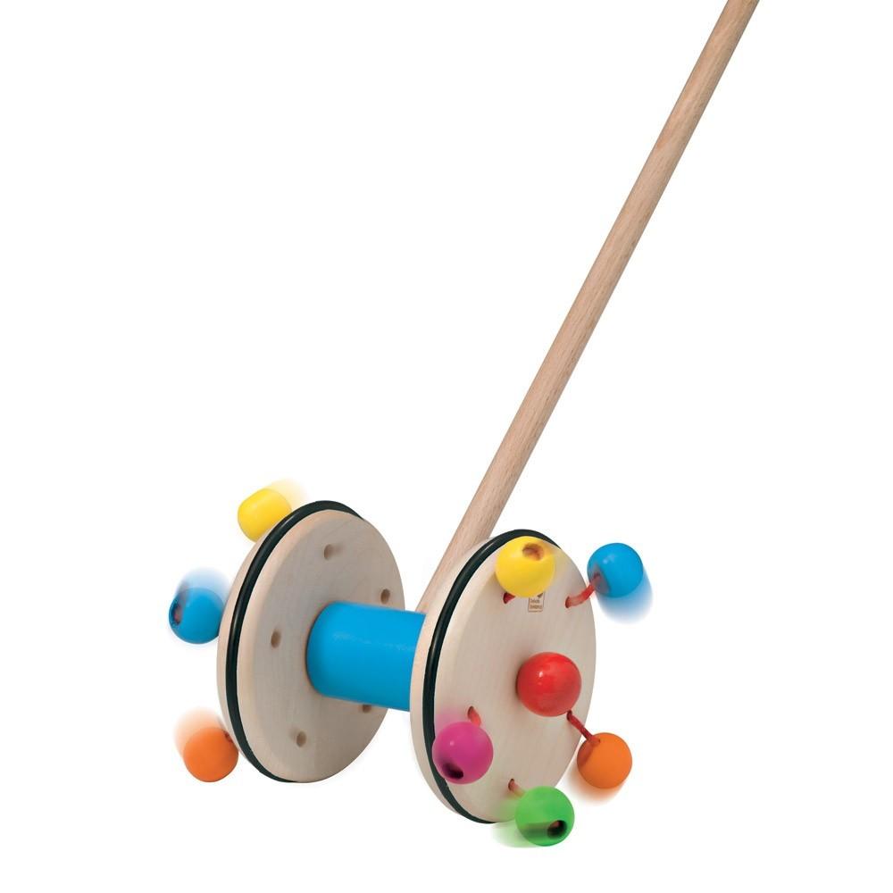 jouet pousser roller selecta jeux jouets loisirs enfant smallable. Black Bedroom Furniture Sets. Home Design Ideas