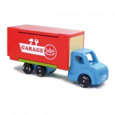Garage camion ambulant