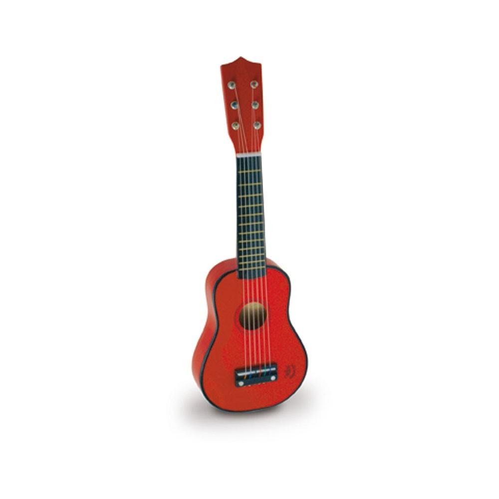 guitare rouge vilac jeux jouets loisirs enfant smallable. Black Bedroom Furniture Sets. Home Design Ideas
