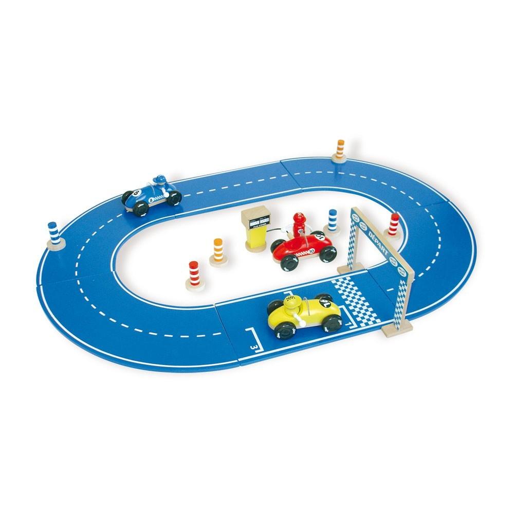circuit de course vilac jouets enfant enfant smallable. Black Bedroom Furniture Sets. Home Design Ideas