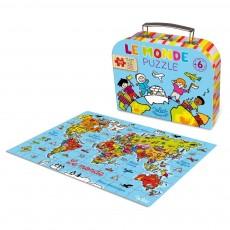Puzzle Le Monde
