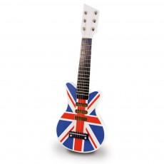 Guitare rock Union Jack
