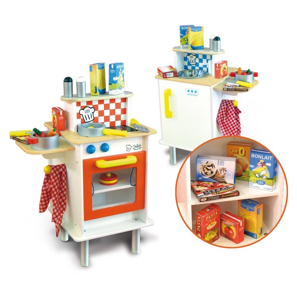 cuisine duo vilac jeux jouets loisirs enfant smallable. Black Bedroom Furniture Sets. Home Design Ideas
