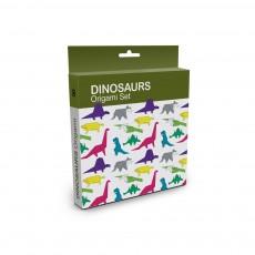 Set Origami Dinosaures Multicolore
