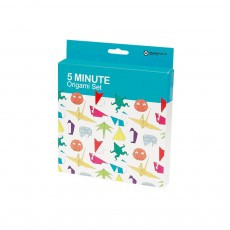 Set Origami 5 minutes Multicolore
