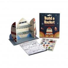 Kit 'Construis ta fusée' Multicolore