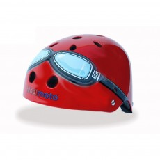 Casque Red Goggle Rouge