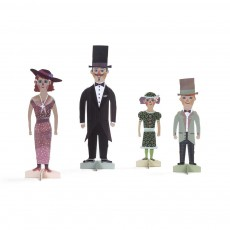 Figurines Famille Multicolore