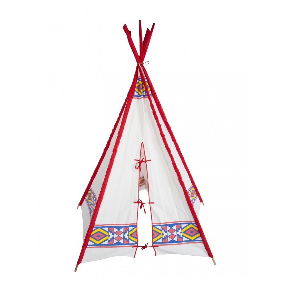 tipi d 39 indien buffalo multicolore helga kreft jeux jouets loisirs enfant smallable. Black Bedroom Furniture Sets. Home Design Ideas