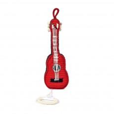Boîte à musique Guitare Rouge