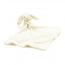 Doudou lange lapin Bashful - Crème