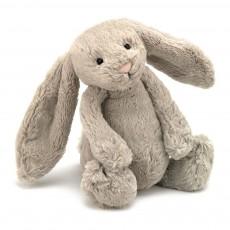 Lapin Bashful aux grandes oreilles - Beige (31 cm)