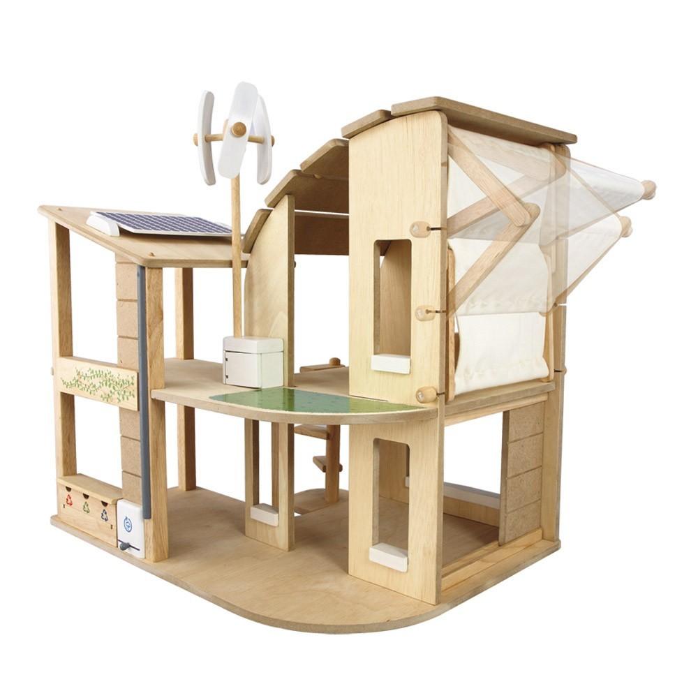maison de poup e cologique meubl e plan toys jeux jouets loisirs enfant smallable. Black Bedroom Furniture Sets. Home Design Ideas
