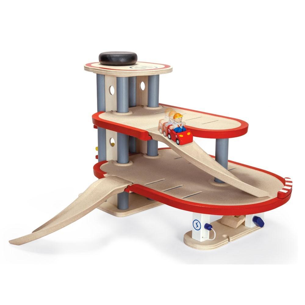 Parking Garage Plan Toys  Jeux, jouets, loisirs Enfant  ~ Garage Enfant Bois