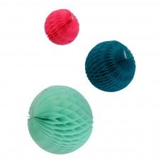 Boules en papier - Océan