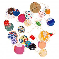 Guirlande confetti - Tissu