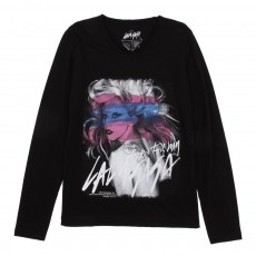 T-shirt Little Gaga LS
