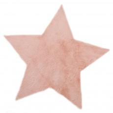 Tapis étoile - rose nude Vieux Rose