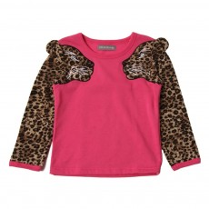 Sweat Manches Leopard