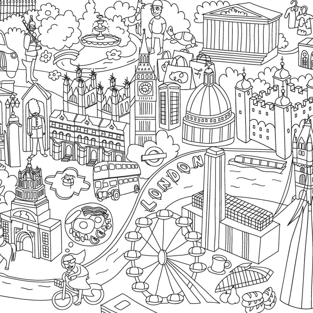 giant coloring poster parisjpg 10001000 coloring pages for adults printables and freebies pinterest
