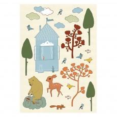 Sticker sapin - verte - Camilla Engman