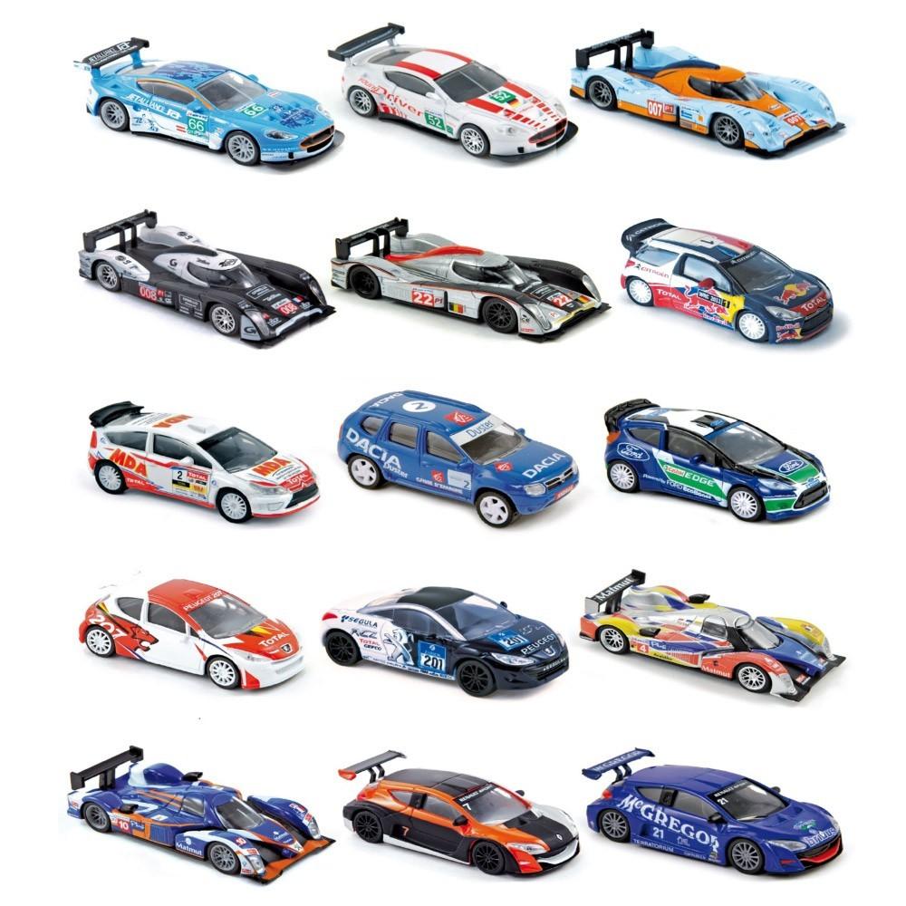 assortiment 5 petites voitures racing multicolore norev jeux jouets loisirs enfant smallable. Black Bedroom Furniture Sets. Home Design Ideas