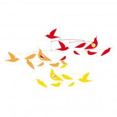 Mobile Oiseaux en harmonie Katsumi Komagata