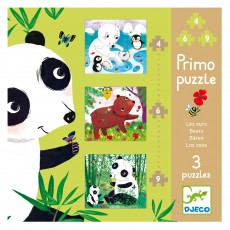 Puzzle Primo Ours