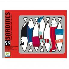 Jeu cartes mémoire Sardines Multicolore