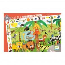Puzzle d'observation - Jungle