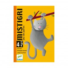 Jeu de cartes Mistigri - Chat Multicolore